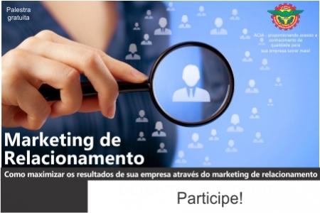 Palestra gratuita: Marketing de Relacionamento