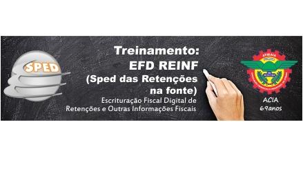 Treinamento: EFD REINF ( Sped das Retenções na Fonte )
