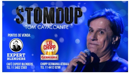 Desconto para associados no StomDup - Tom Cavalcante