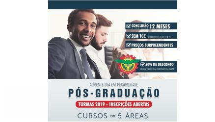Há novidades no Clube de Benefícios. Confira: 50% de desconto nos cursos de pós-graduação da Unifaat.