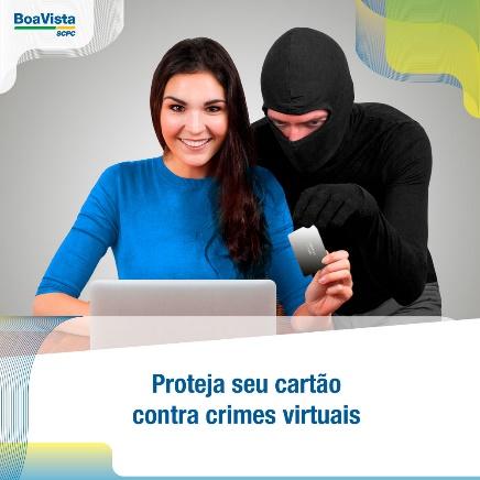 Proteja seu cartão de crédito contra o crime virtual