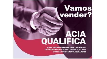 Notícia: Participe de mais um ótimo evento do ACIA Qualifica.