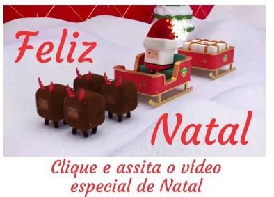 Feliz Natal! Assista nosso vídeo especial de Natal.