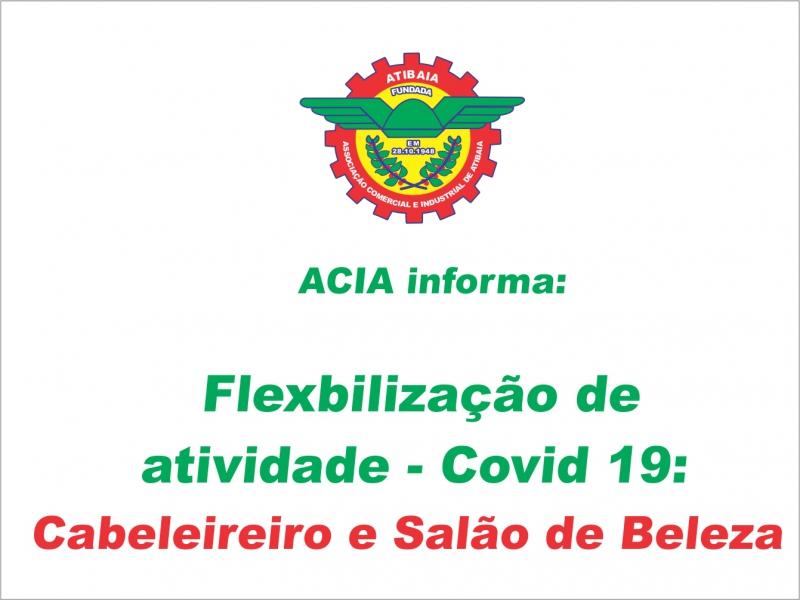 Flexibilização Covid-19: Cabeleireiros e Salões de Beleza.