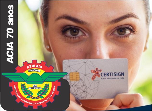 Certificado digital é na Associação Comercial.