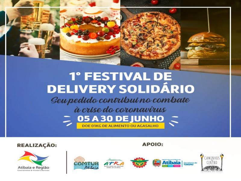 1º Festival de Delivery Solidário