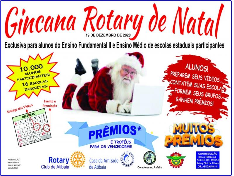 Notícia: Gincana Rotary de Natal