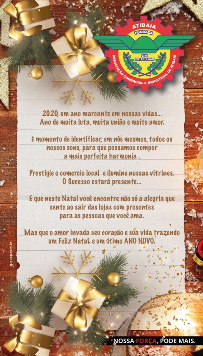 Notícia: Feliz Natal e um Ótimo Ano Novo