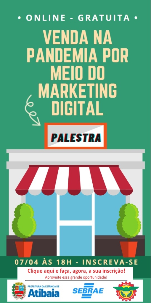 Notícia: Venda na Pandemia por Meio do Marketing Digital