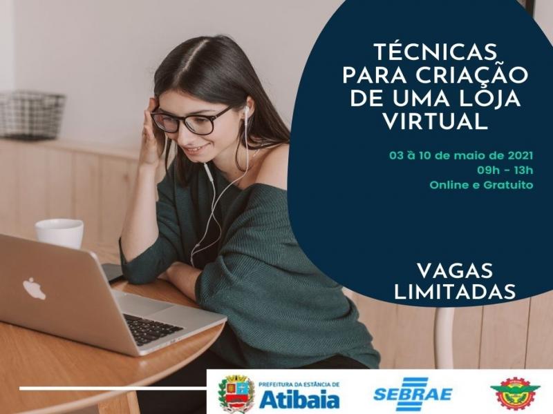 Notícia: Treinamento gratuito: Técnicas para Criação de uma Loja Virtual
