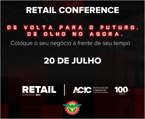 Notícia: Retail conference 2021. Inscreva-se gratuitamente