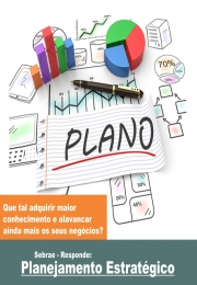 Palestra gratuita Sebrae: SEBRAE RESPONDE- Planejamento Estratégico.