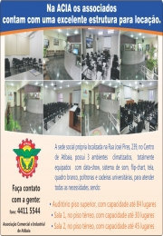 Notícia: Locação de Salas e Auditório