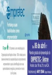 Palestra gratuita de Apresentação do EMPRETEC - Sebrae