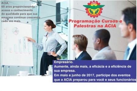 Notícia: Programação ACIA ABRIL DE 2017